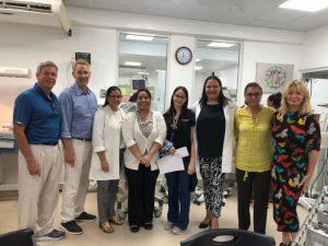 Project HOPE destaca esfuerzos del hospital Estrella Ureña en reducción mortalidad neonatal
