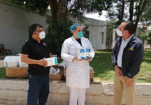 Maternidad Doña Renée Klang de Guzmán recibe donación de APEDI.