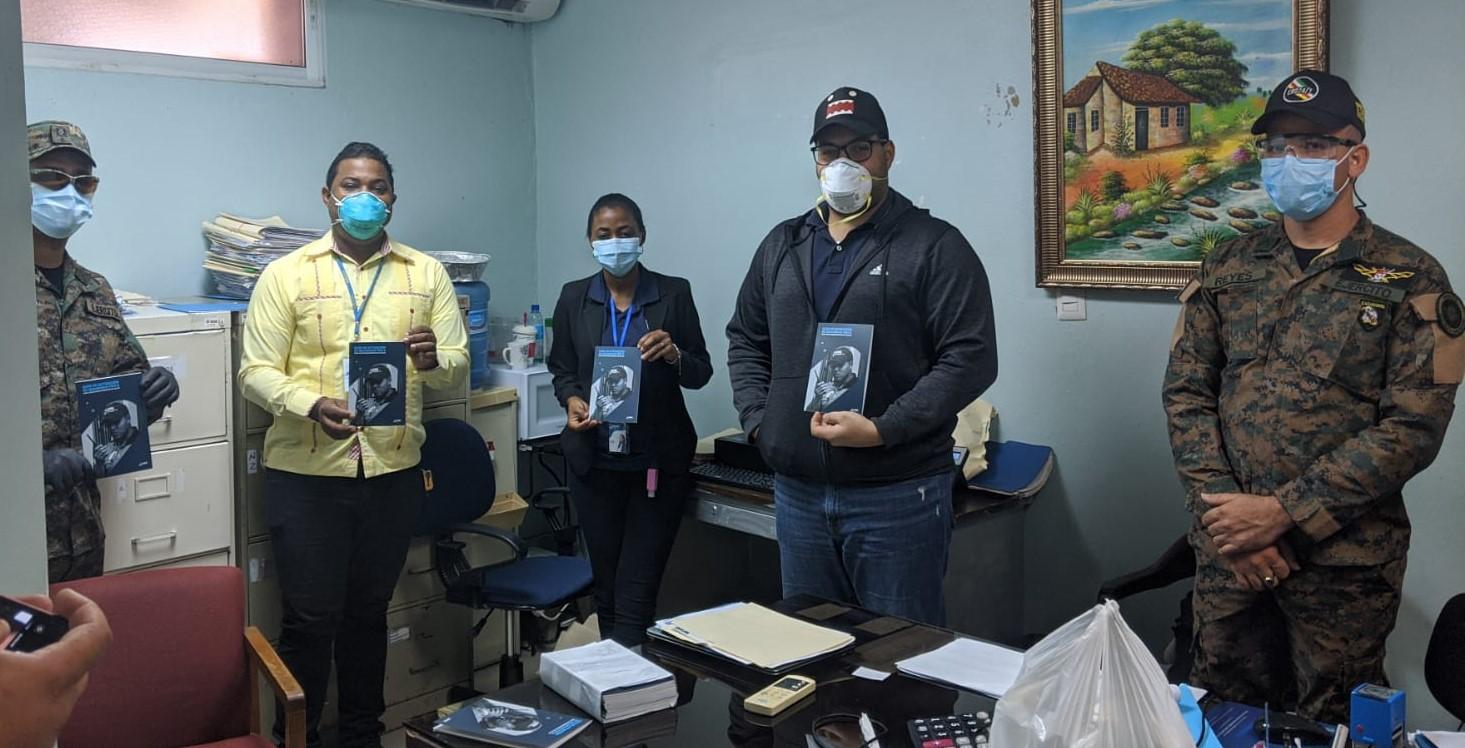 Hospital Presidente Estrella Ureña recibe Guía de Actuación de Seguridad Física
