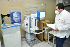 SNS entrega mamógrafo a hospital Cabral y Báez en Santiago